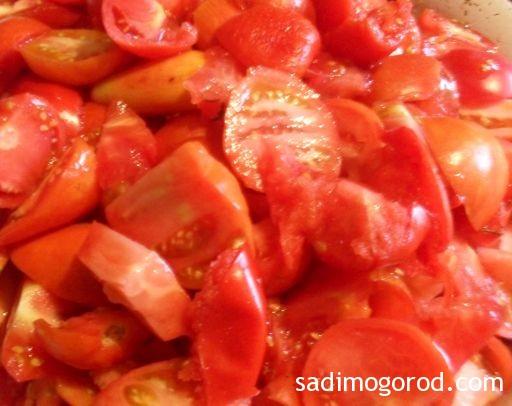 простой салат из баклажанов на зиму 4